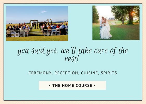 Weddings at The Home Course