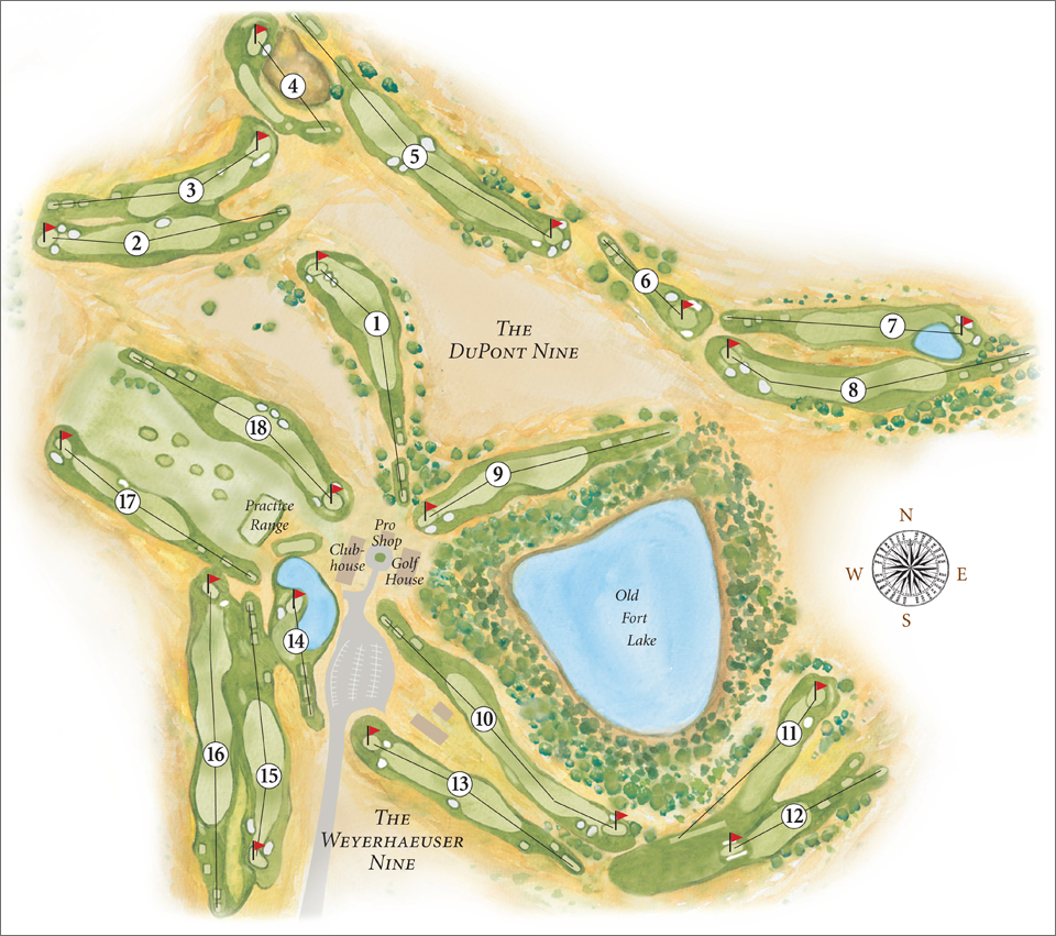 Home Course Map