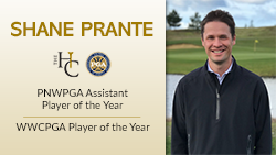 Shane Prante garners Player of the Year Awards