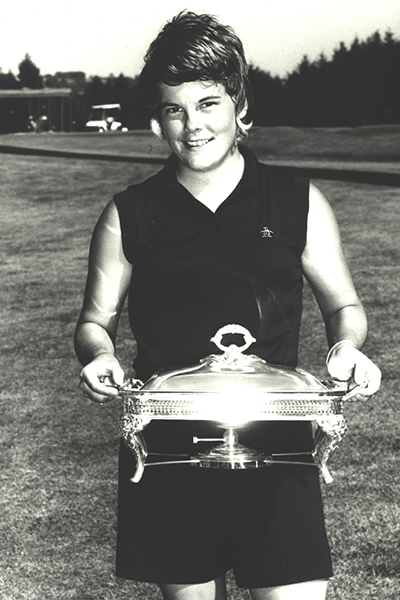 Jo Ann Washam won back-to-back titles in the PNGA Women's Amateur, in 1970 and 1971.